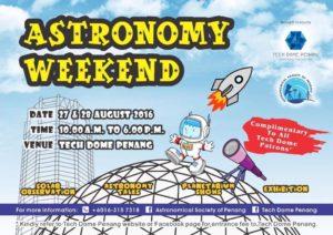 Astronomy Weekend