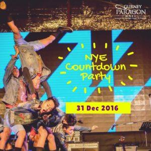 NYE Countdown Party at Gurney Paragon Mall