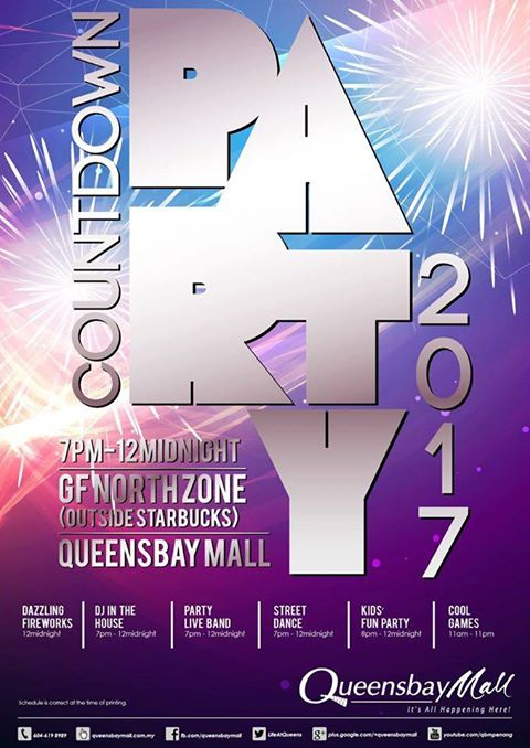 Countdown Party at Queensbat Mall
