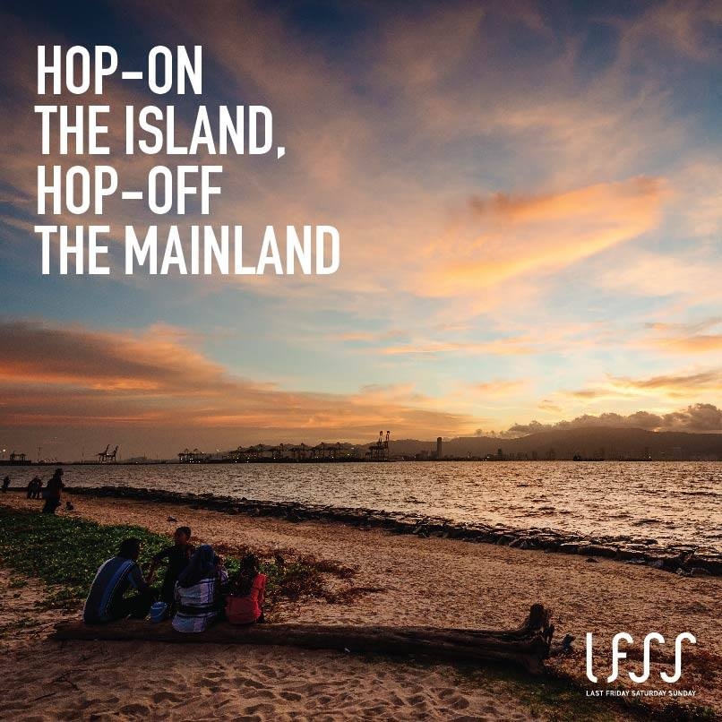 Hop-On The Island, Hop-Off The Mainland