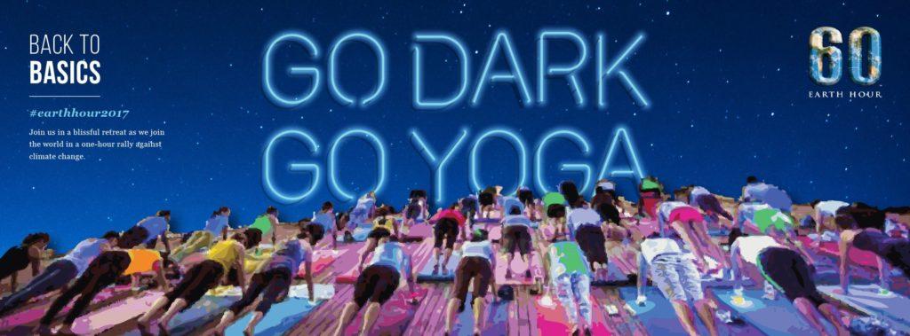 Earth Hour 2017 | Go Dark, Go Yoga