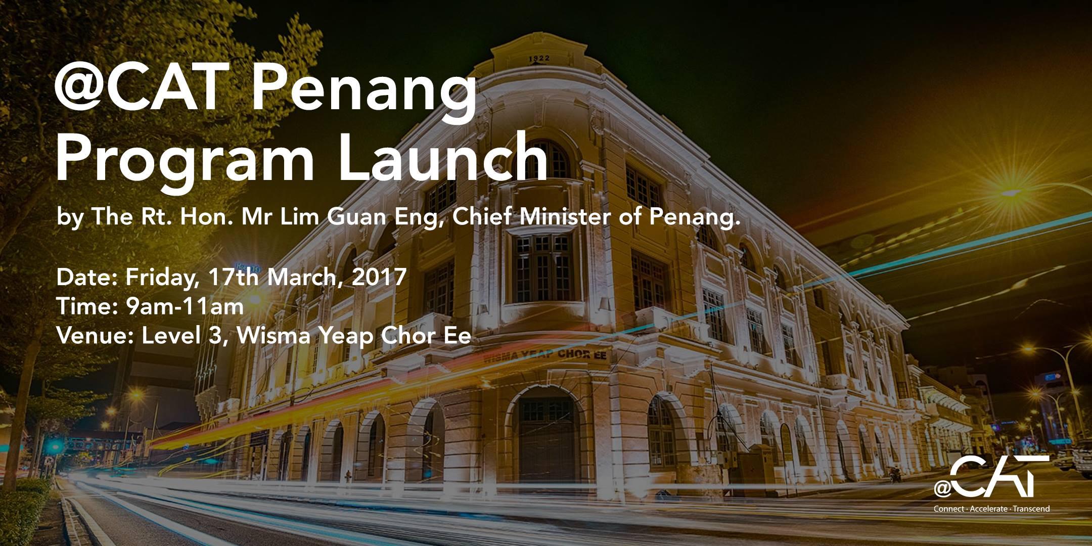 Penang @CAT Program Launch