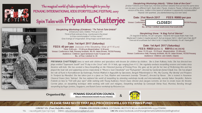 Spin Tales with Priyanka Chatterjee