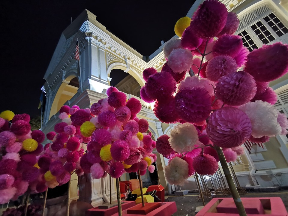 Decoration for state Mid autumn festival 2019