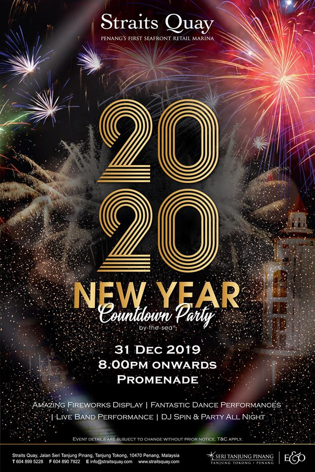 Straits Quay 2020 New Year Countdown Party
