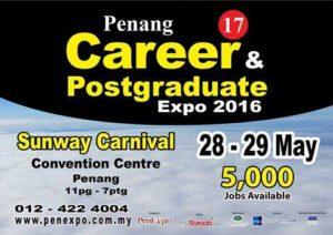 17th Penang Career & Postgraduate Expo 2016