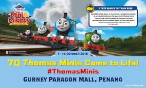 Thomas Town in Gurney Paragon Mall