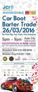 Car Boot Barter Trade 2016