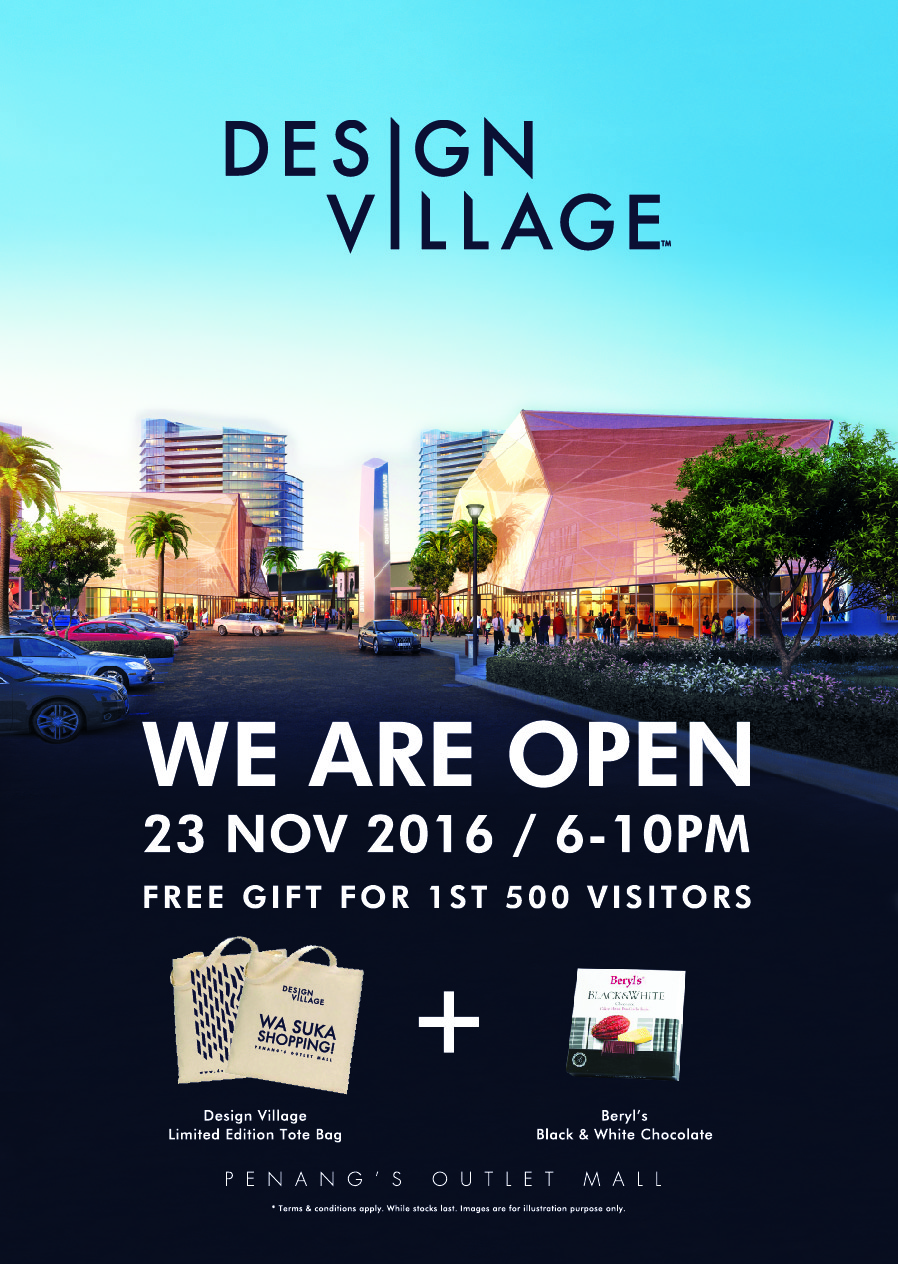 Grand Opening of Design Village