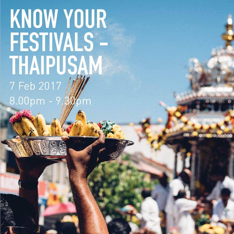 Know Your Festivals - Thaipusam