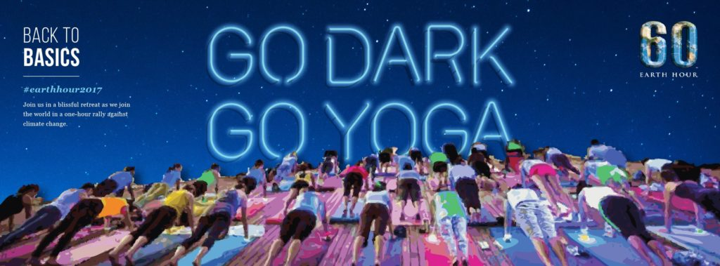 Earth Hour 2017 | Go Dark, Go Yoga