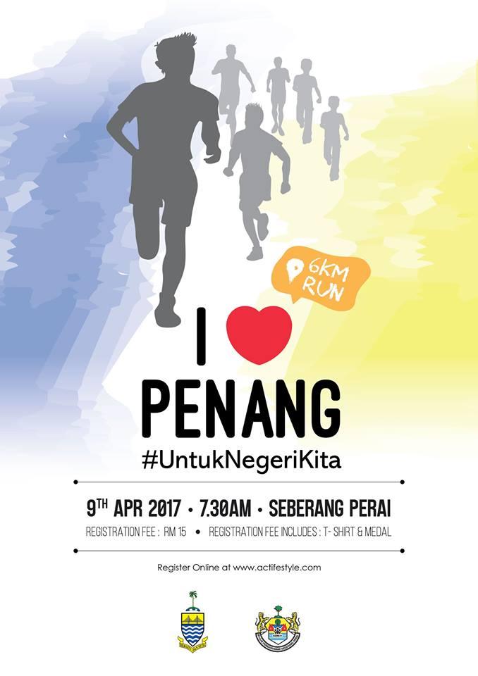 I Love Penang Run