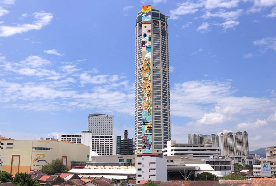 Penang Komtar SkyArt at THE TOP