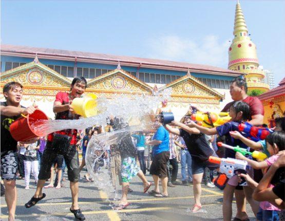 thai water festival 2017