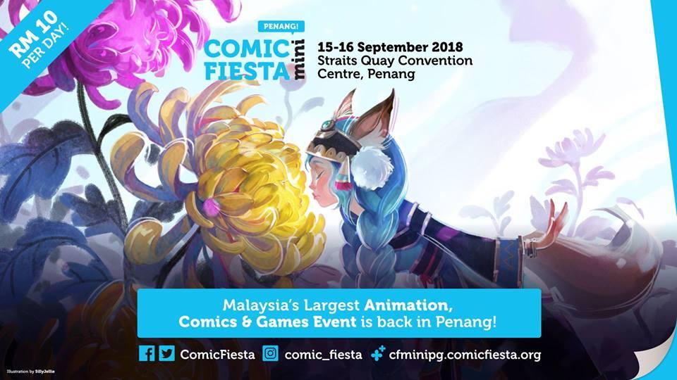 Comic Fiesta Mini 2018