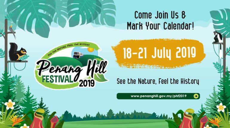 Penang Hill festival 2019