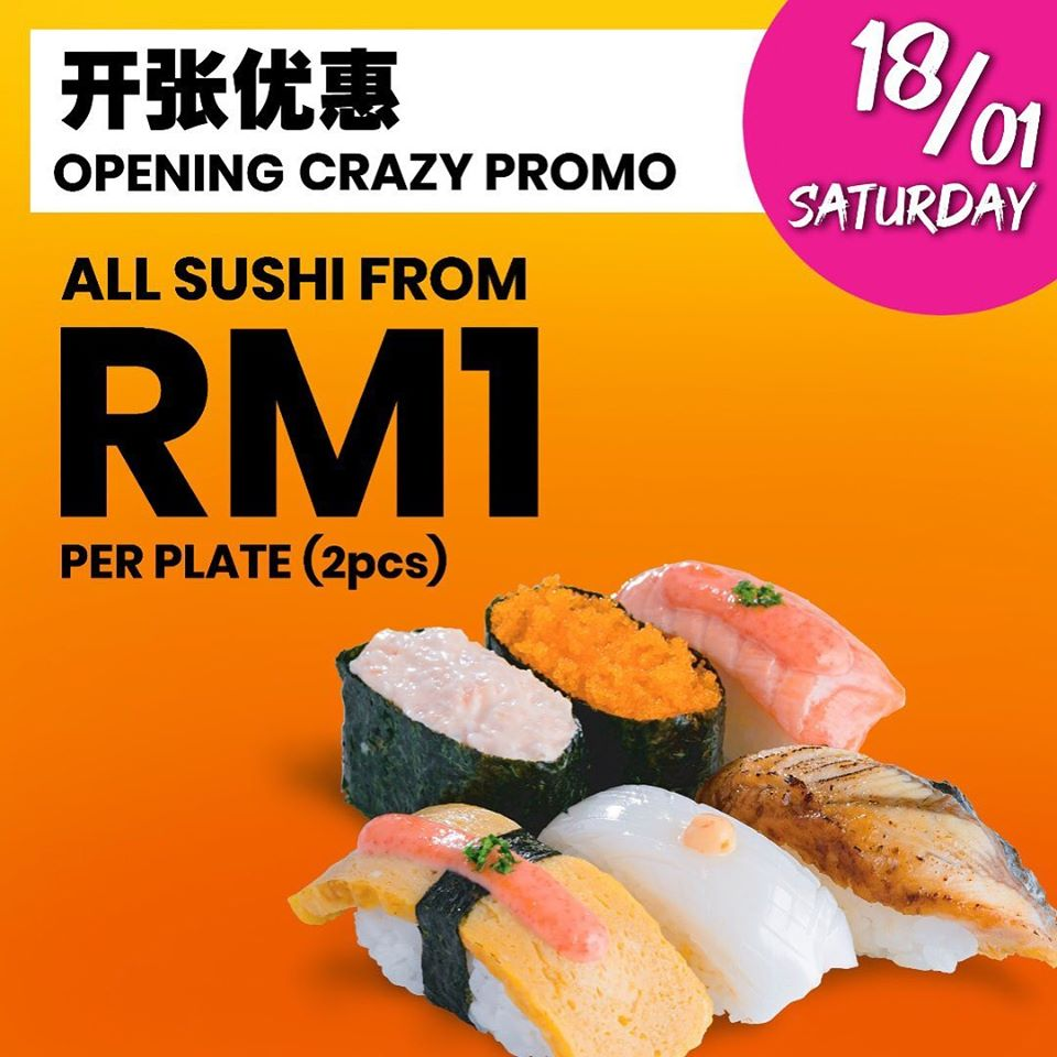 The Wafu Family Kitchen Opening Promotion