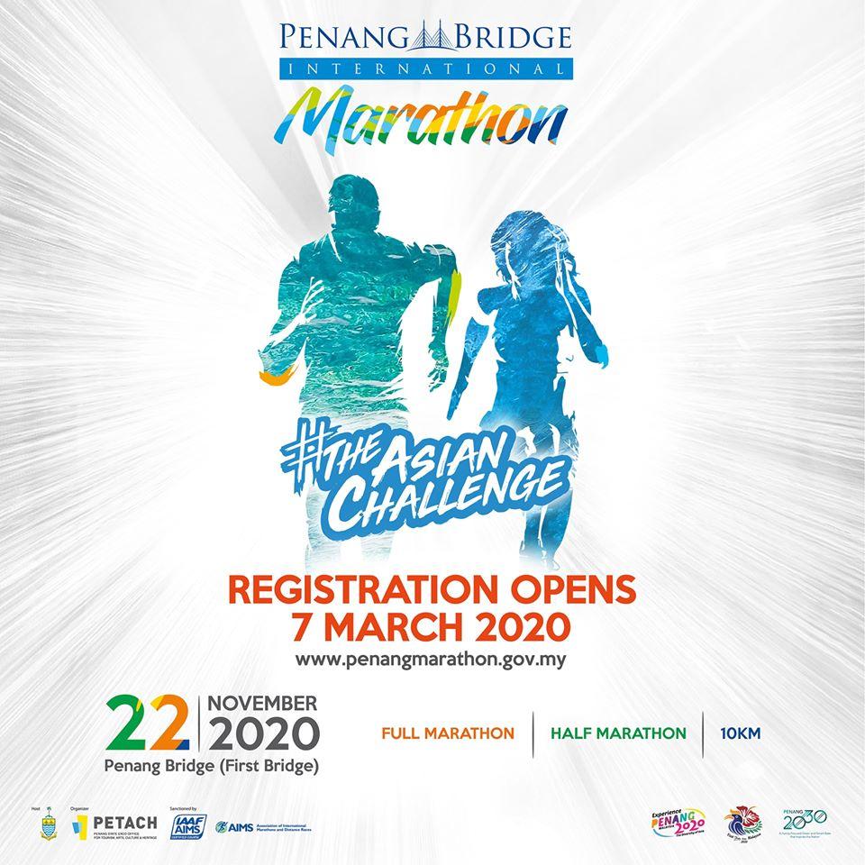 Penang Bridge International Marathon 2020