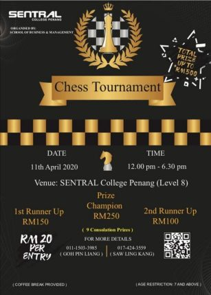 Chess Tournament 2020 Sentral College