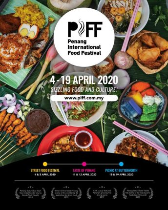 Penang International Food Festival 2020