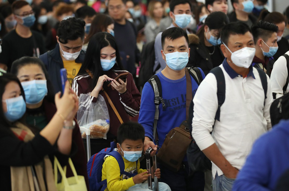 Mandatory face masks on Aug 1 is for crowded public places
